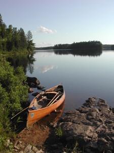 CanoeByLake